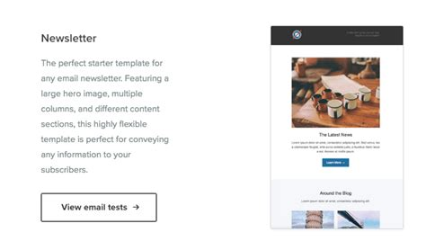 700 Free Newsletter Templates That Look Great On Mobile Litmus Newsletter Templates