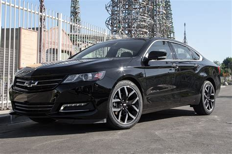 2016 chevrolet impala review and rating motor trend