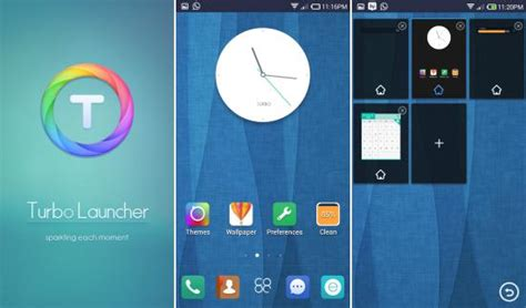 turbo launcher ex trusted reviews turbo launcher ex for android lightweight themes widgets