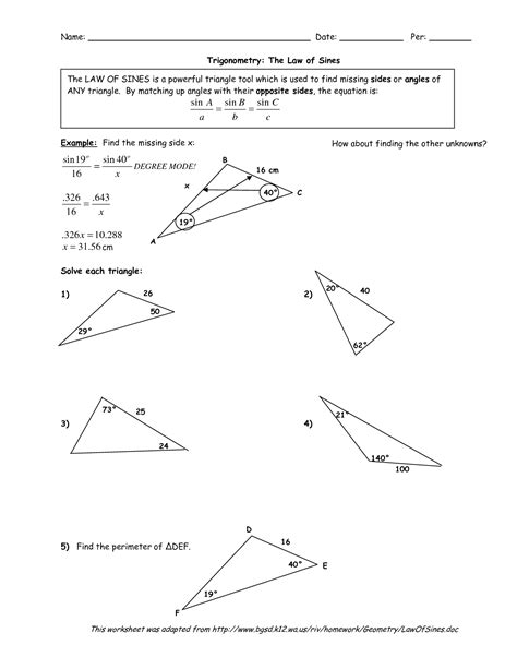 classifying conic sections worksheet answers 14 best images of classifying triangles worksheet answers