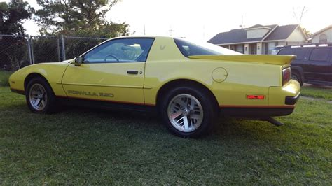 1988 Pontiac Firebird Formula by 1988 Pontiac Firebird Formula 350 Yellow Gold