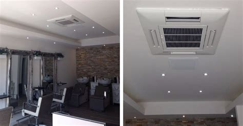 hair and makeup uddingston salon air conditioning case study for luxe glasgow