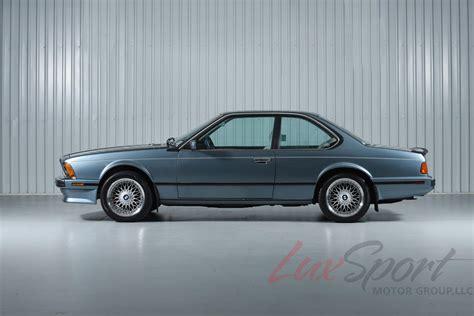 1988 bmw 635csi 1988 bmw 635csi german cars for sale blog