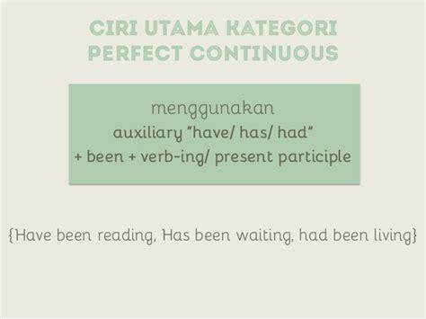 english verb tense