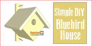 Chicken Hutch Design Simple Bluebird House Pdf Download Construct101