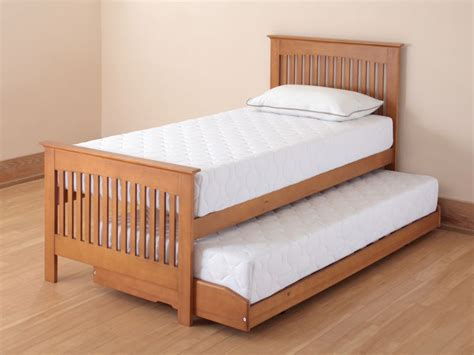 relyon bed relyon duo sleep 3ft single wooden guest bed oak