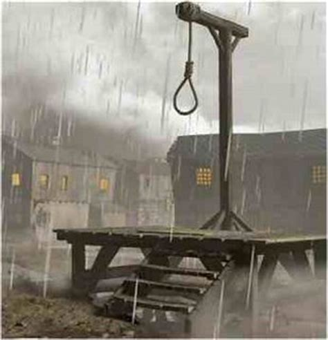 hang picture gallows
