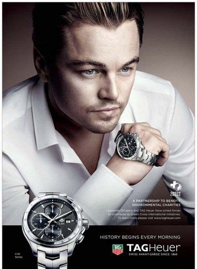 tag heuer ads leonardo dicaprio for tag heuer ad ads with