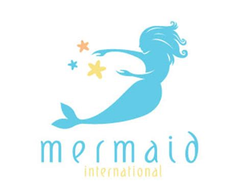design a mermaid logo mermaid beauty consultant designed by maccreatives