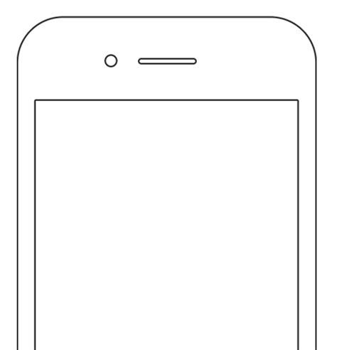 Iphone 7 Coloring Pages by Anyone Where I Can Find Phone Hardware Templates To