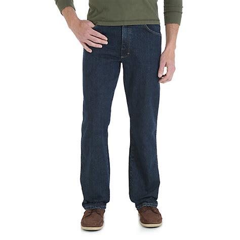 wrangler comfort fit jeans wrangler 174 comfort solutions series comfort fit jean mens