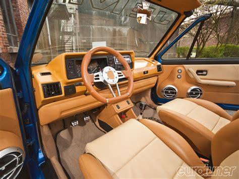 volkswagen rabbit interior 1983 volkswagen golf cabriolet tim lepez eurotuner