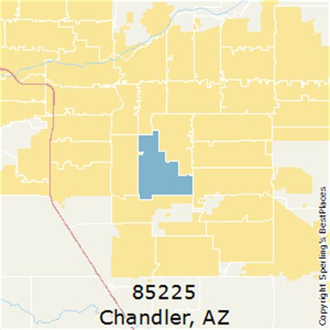 zip code map chandler az best places to live in chandler zip 85225 arizona