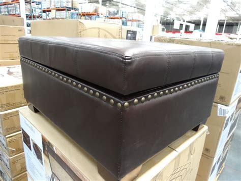 Costco Ottoman Costco Ottoman Fulham Bonded Leather Storage Ottoman Costco Weekend Update February 12 2016