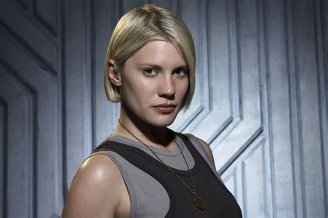 Starbuck Blood Black katee sackhoff doesn t sound terribly happy about the
