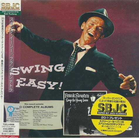 frank sinatra swing songs frank sinatra swing easy songs for young lovers cd