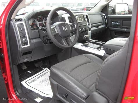 2011 Dodge Ram Interior by Slate Gray Interior 2011 Dodge Ram 1500 Sport Regular