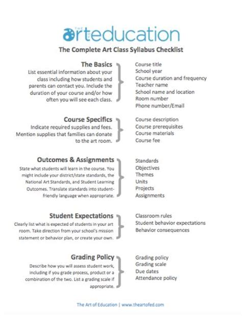 create a syllabus template best 20 syllabus ideas on