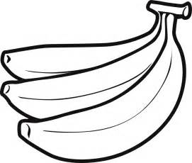 banana coloring page banana coloring pages to and print for free