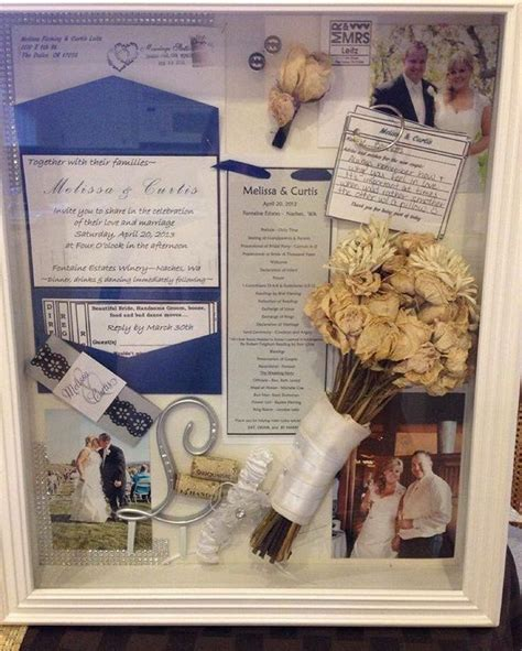 Wedding Shadow Box Ideas by Wedding Shadow Boxes Are A Great Way To Save All Your