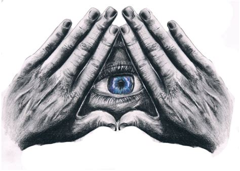 the all seeing eye by dasmatzori on deviantart