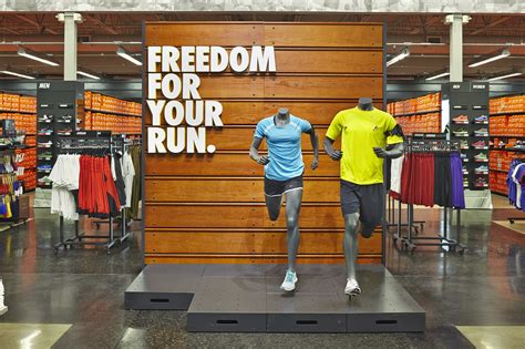 official store nikecom nike factory stores retail design psykey design psykey