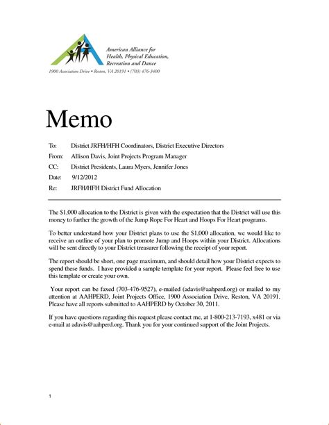 doc 585600 executive memo template 10 executive memo