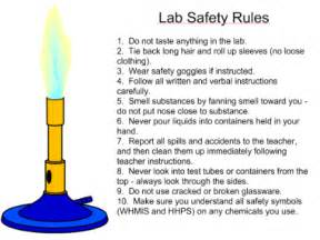 Lab safety rules memes