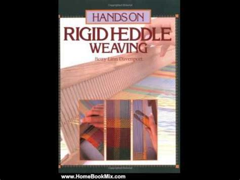 Home Book Summary Hands On Rigid Heddle Weaving By Betty