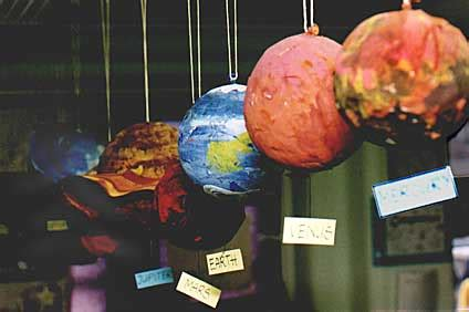 How To Make Paper Planets - paper mache of planet uranus page 4 pics about space