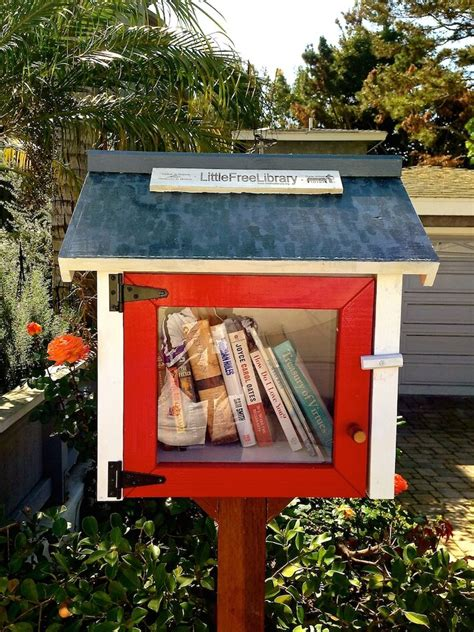 outdoor home library ideas a little free library opens in manhattan beach homejelly