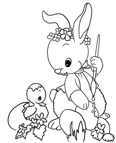 easter coloring easter coloring pages