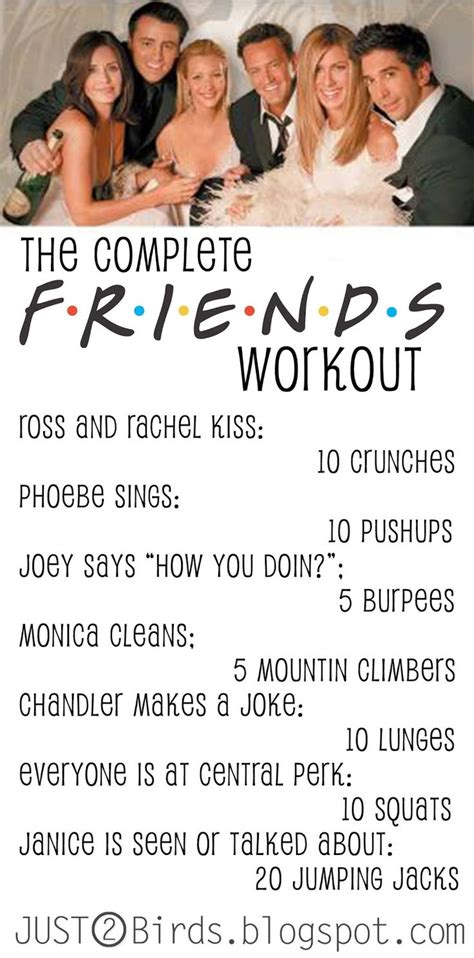 25 best ideas about friends workout on friend
