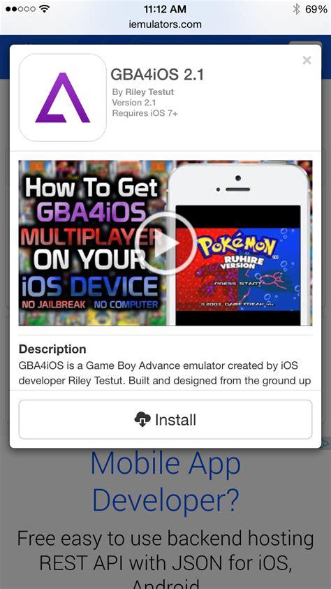 gameboy color emulator iphone gameboy emulator for iphone is back no jailbreak required
