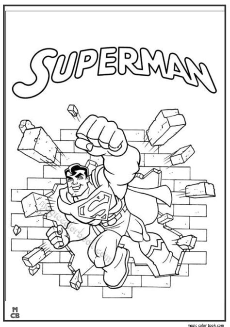 baby batman and superman pages coloring pages