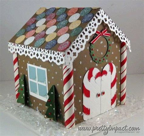 How To Make A Gingerbread Out Of Paper - this is the house that built stin pretty