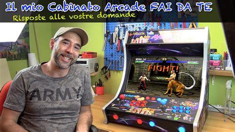 cabinato arcade il mio cabinato arcade fai da te con retropie novit 224 e