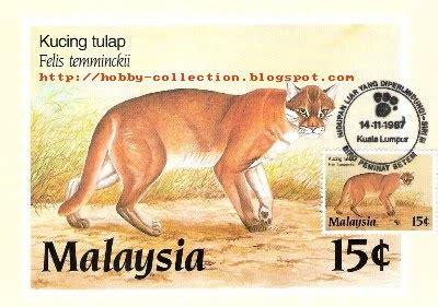 Komik One Dijual 1 Set setem malaysia kucing tulap hobby collection hobi