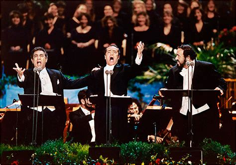 The Three richard haughton musicians the three tenors los angeles