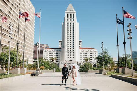Wedding Shoes Los Angeles magical downtown los angeles wedding gavin