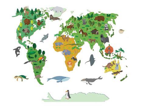 wall decal world map children walldesign56 wall decals