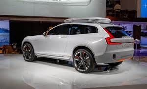 Volvo Xc Coupe Release Date Volvo Concept Xc Coupe Reimagining Swedish Suvs Volvo