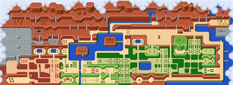 legend of zelda map labeled the legend of zelda map by sirzauberer on deviantart