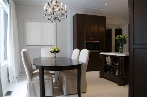 chocolate brown dining room paint color design lines ltd geometric wall panels contemporary dining room ma