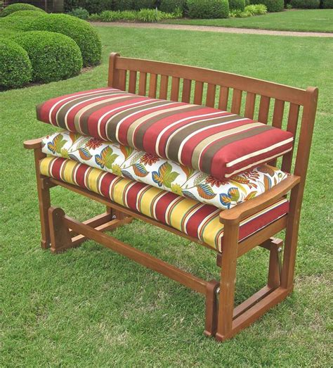 55 inch outdoor bench cushion outdoor bench cushions 100 recover patio furniture