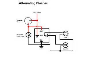3 wire flasher wiring diagram wiring diagram and circuit schematic