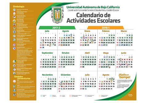 Calendario Escolar Uabc 2015 2 Calendario 2016 Uabc Facultad De Derecho Tijuana