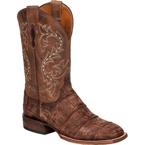 lucchese alligator boots lucchese s malcolm alligator boots western