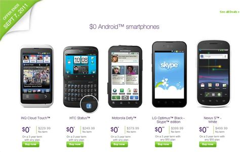 free for android phone iphone 4 just 99 at telus android smartphones free with contract