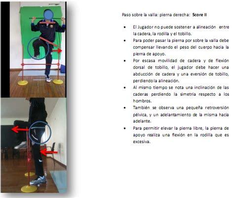 cadena cinetica voleibol el uso del fms functional movement screen junto con la